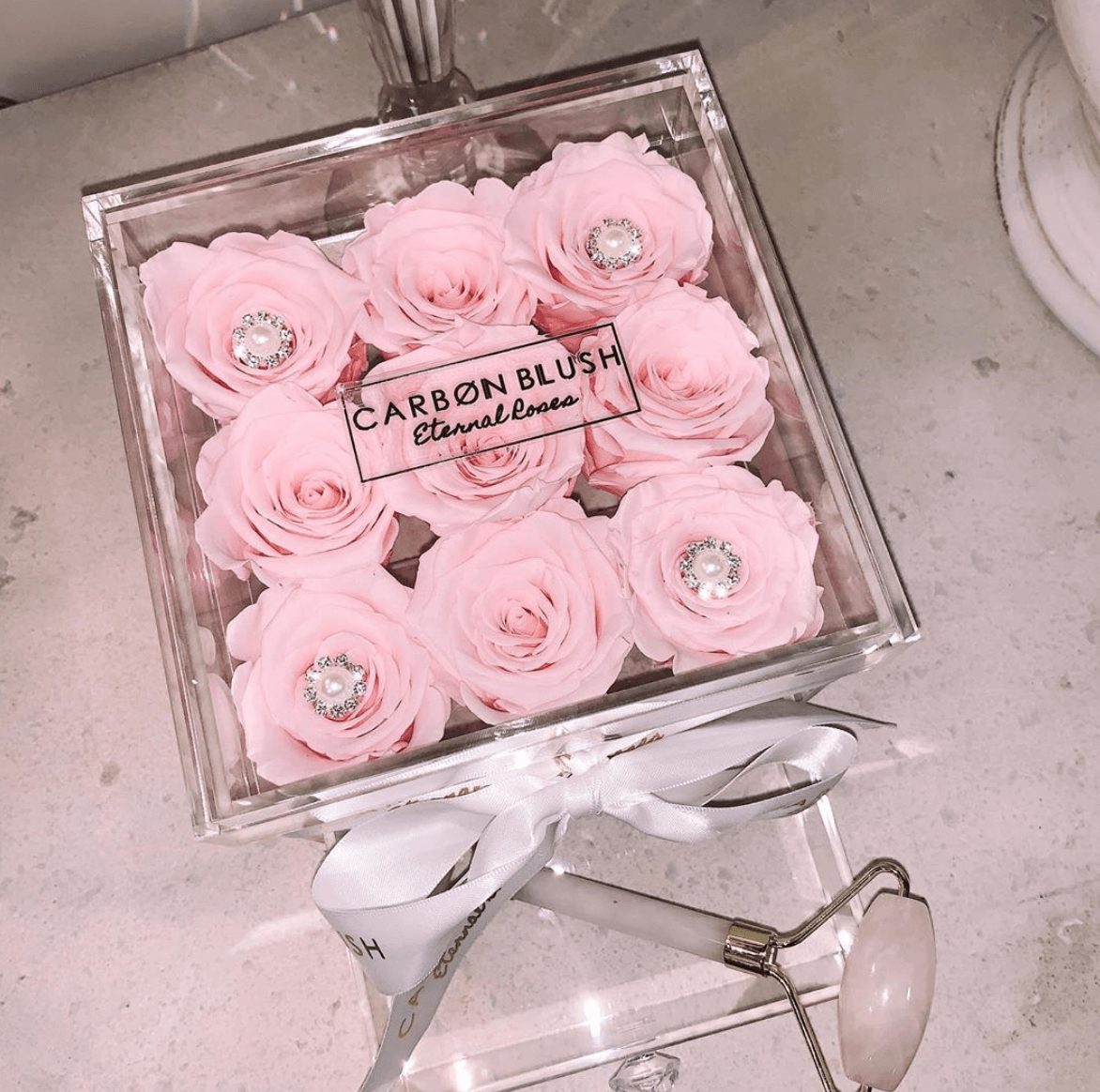 Carbon Blush Eternal Roses