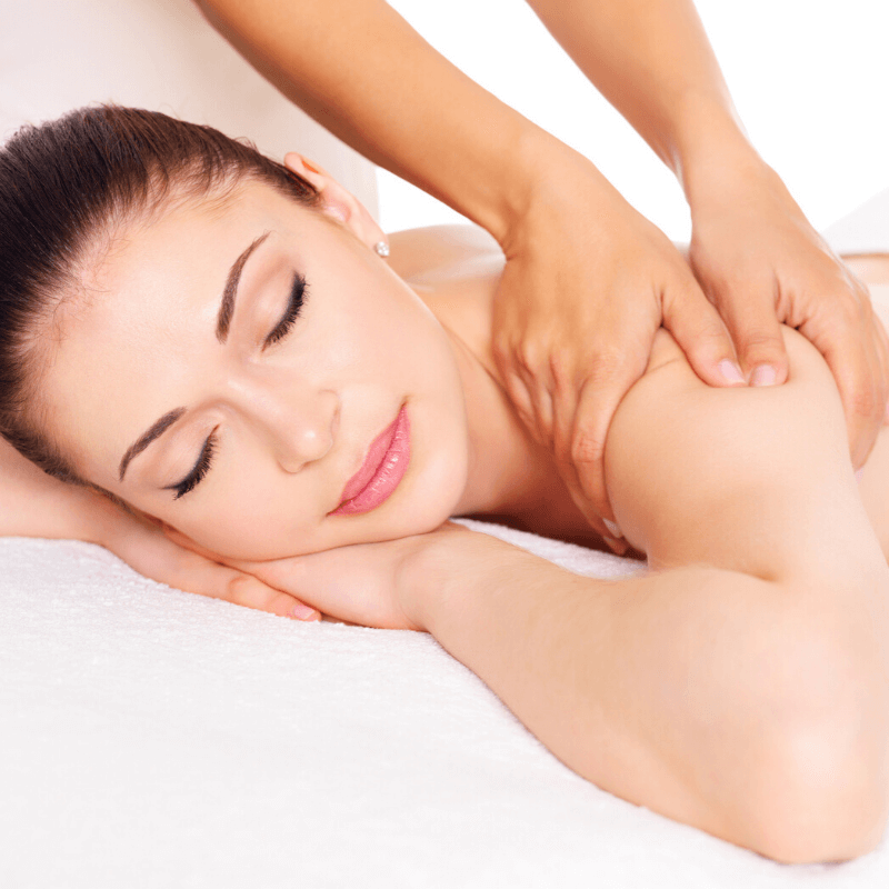 Female Back Massage | Carbon Blush