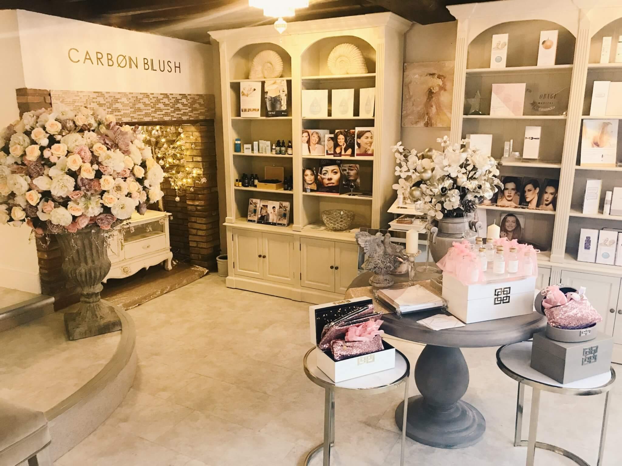 Carbon Blush Beauty Room