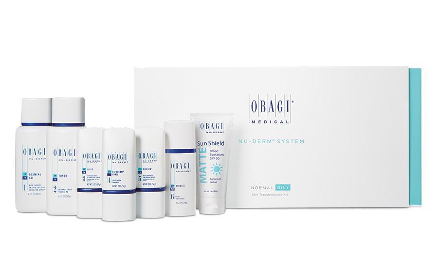 Obagi Medical Nuderm System (Normal to Dry) | Carbon Blush