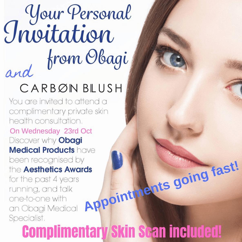 Free Obagi Professional Skin Consultations