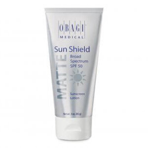 Obagi Sun Shield Matte Broad Spectrum SPF 50 | Carbon Blush