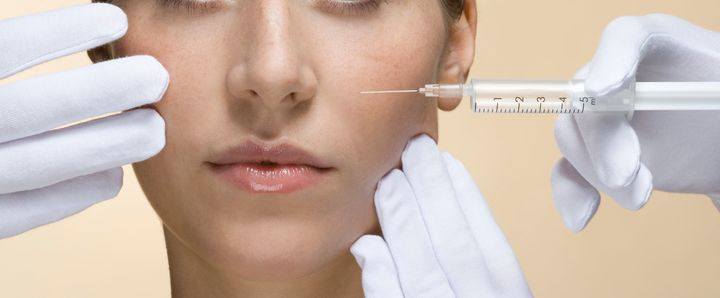 Women Getting Injection in Face
