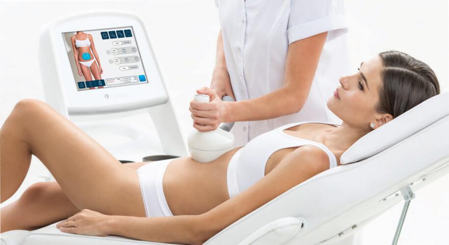 Women Receiving SlimMe Treatment