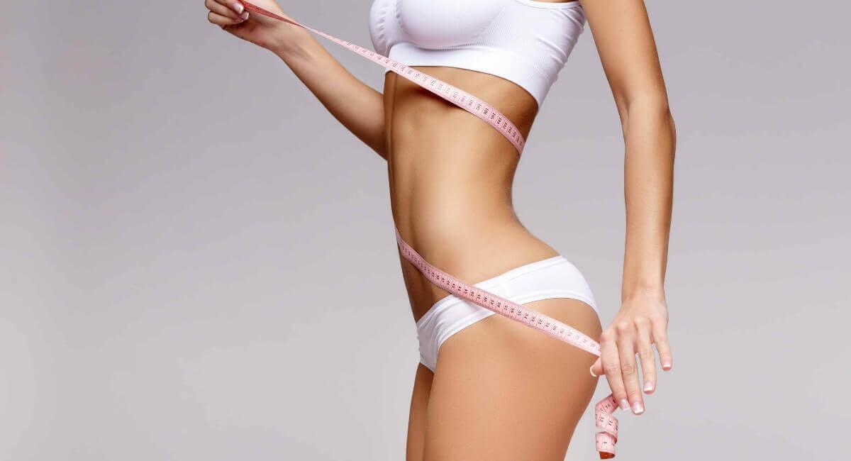 Women Measuring Body