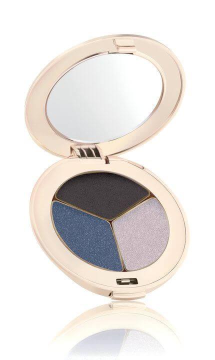 Jane Iredale PurePressed Eye Shadow Triple Blue Hour