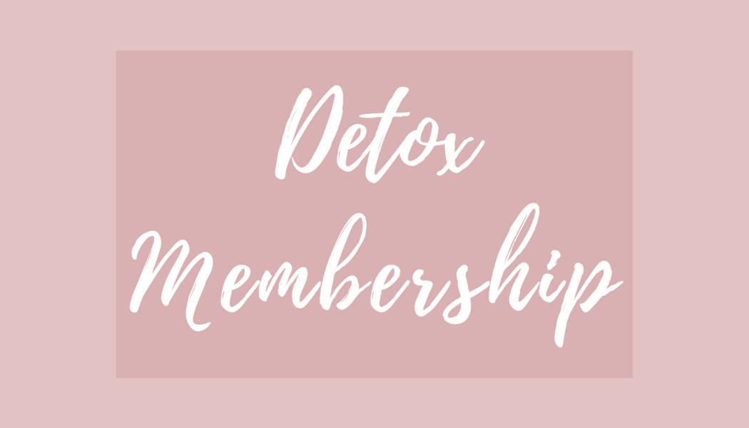 Detox Membership
