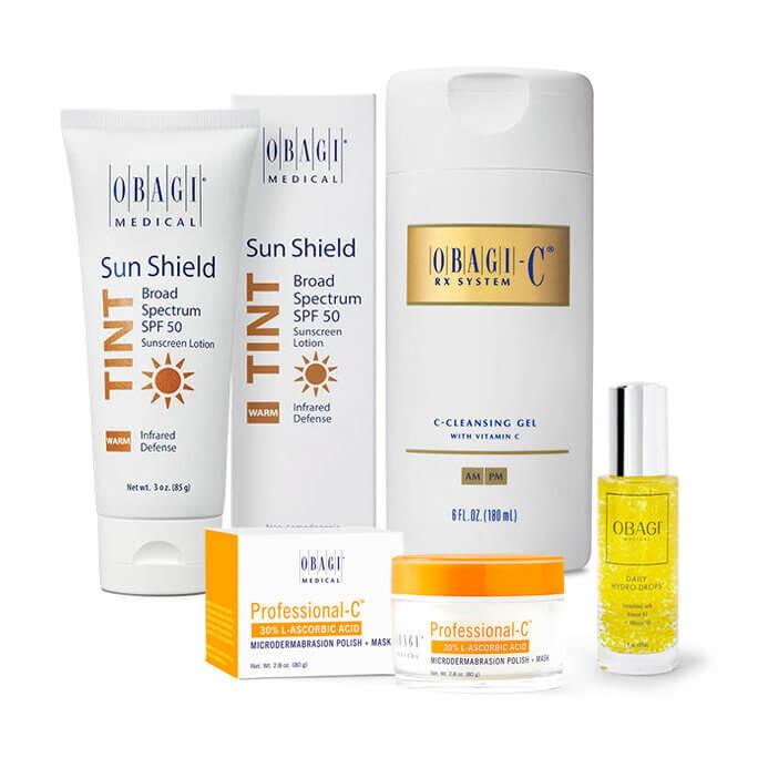 Obagi Medical Stay Radiant At-Home Facial Kits
